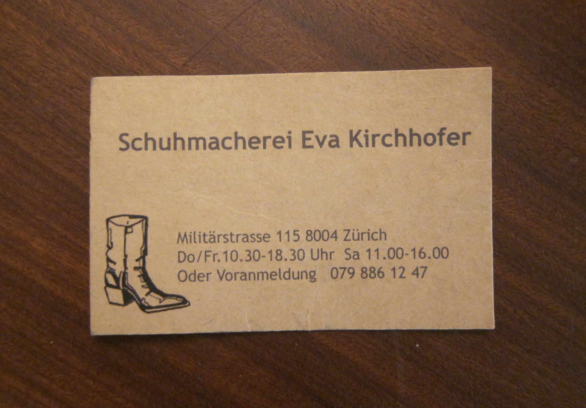 schuhmacherin.ch
